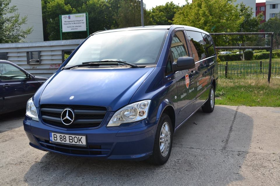 minibus to rent in bucharest otopeni airport