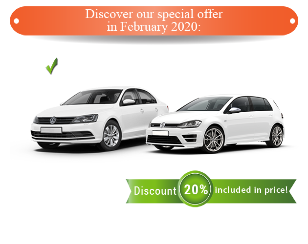 Vw jetta car rent in romania good price