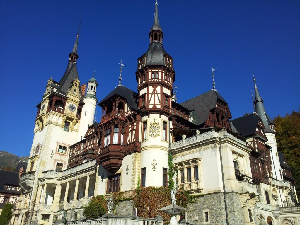 Poze castel Peles Romania