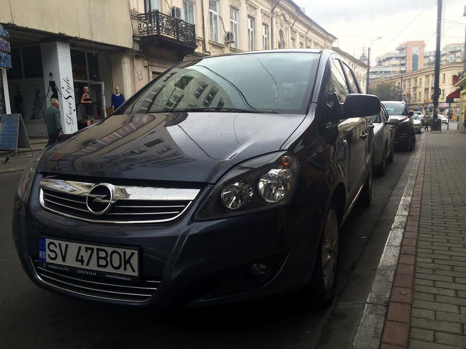 Opel Zafira de inchiriat in Bacau