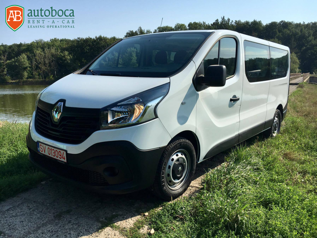 microbuz renault trafic inchiriere