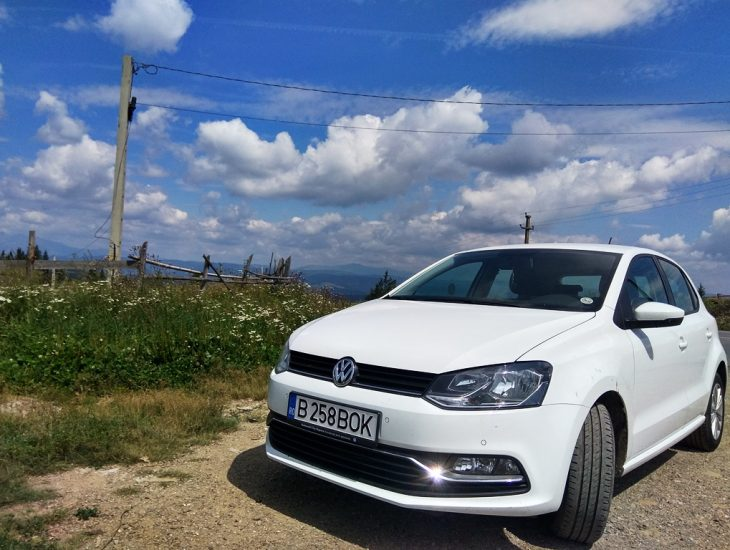 rent vw polo in romania great price
